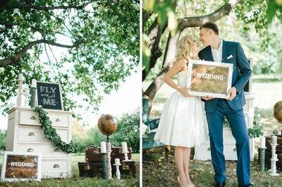 Как организовать свадьбу: оригинальные тенденции 2015 для вашей свадьбы