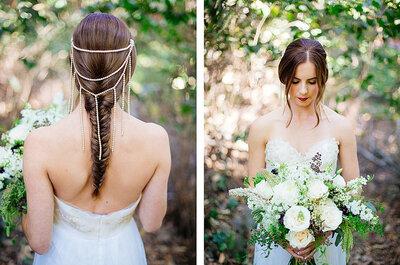 Headpieces statt Brautschleier?