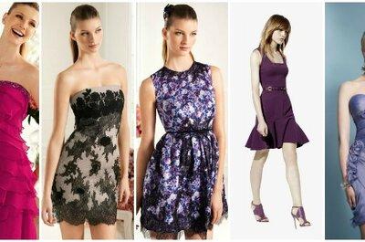 Vuoi essere un'invitata glamour? Punta su un abito da cerimonia corto