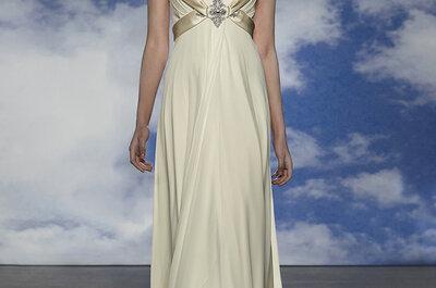 Goud en zilver: Jouw unieke, bijzondere bruidsjurk!