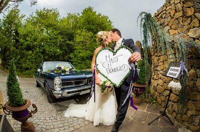 Hier kommt die Braut: So finden Sie das passende Hochzeitsauto!