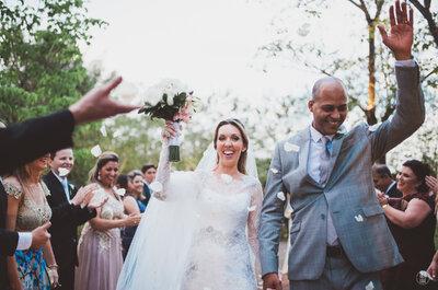 Casamento de Roberta & Washington: decoração moderna, sofisticada e acolhedora em Ribeirão Preto!