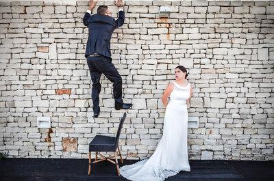 Immagini di una storia vera, spontanea e romantica, come il vostro matrimonio