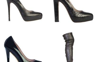 Collezione Le Silla A/I 2012-13...scarpe perfette per la sposa con un'anima rock!