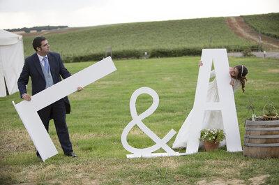 Como si fuera el primer día: la boda de Alejandra y Luis
