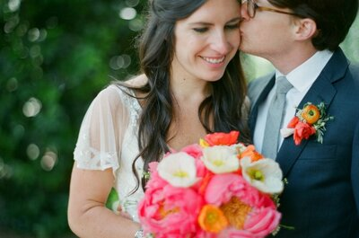 Real Wedding Lily e Jeremy: un matrimonio fatto di... corallo!