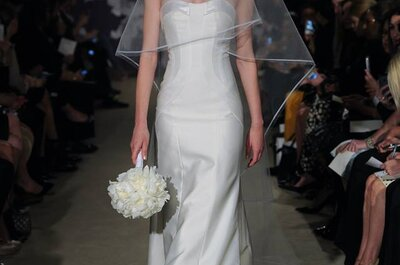 Os mais lindos vestidos de noiva Carolina Herrera 2015 - New York Bridal Week