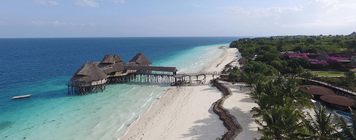 Los mejores hoteles para tu luna de miel en Zanzíbar