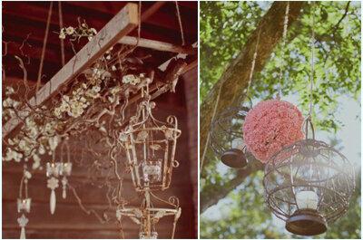 Pensez aux suspensions décoratives pour votre mariage : des touches d'originalité et de romantisme !