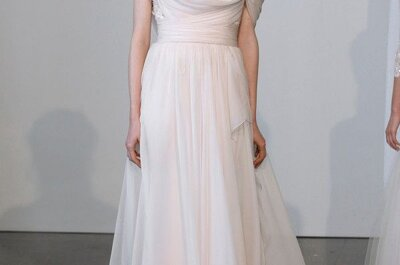 Les grandes tendances robes de mariée 2015 : Bridal Week de New York