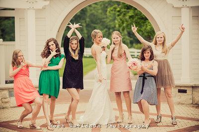 Vestidos cortos para invitadas a una boda en 2014