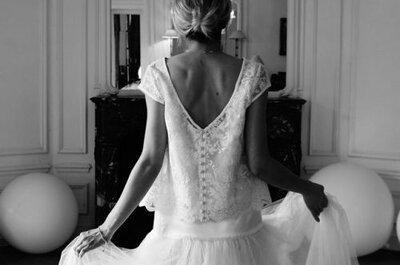 Le charme à la française des nouvelles créatrices de robes de mariée