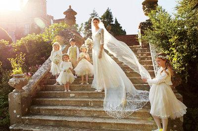 Romántica boda en castillo de la modelo Jacquetta Wheeler