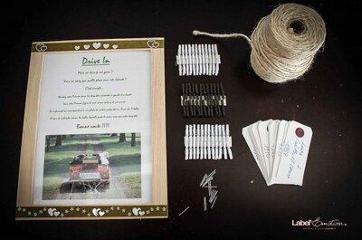 Escorts Cards : le tuto pour une décoration de mariage top tendance !