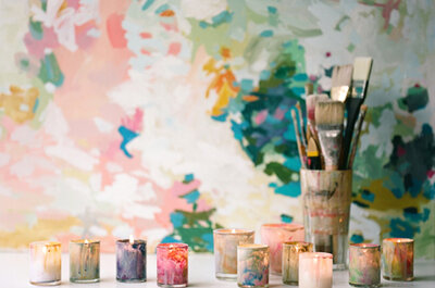 Watercolor Wedding Ideas for the Art Inspired Bride