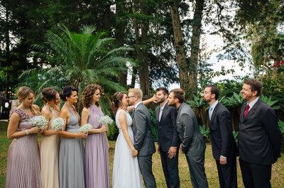 Elis & Tobias: festa de casamento ao ar livre entre amigos em Porto Alegre