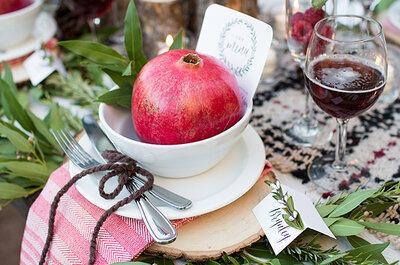 Granadas: saludables e ideales para decorar tu boda