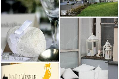 Białe wesele, czyli konwalie i papier w roli głównej