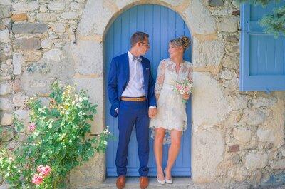 C'était il y a un an jour pour jour : le mariage plein de bonne humeur de Christophe + Valentine