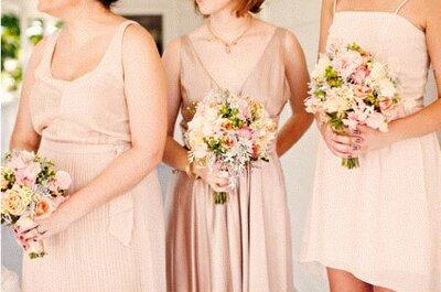 Hochzeit in Pink: Blumensträuße mit rosa Blumen