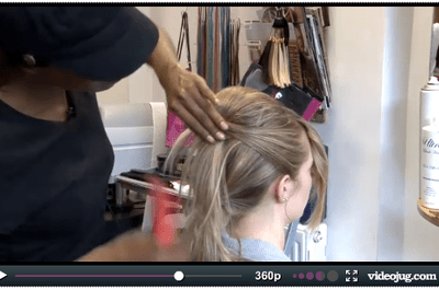 How to do a beehive video