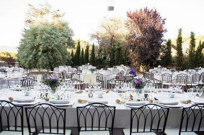 Un idílico paisaje para tu boda al aire libre: descubre el encanto de Finca Villasolita