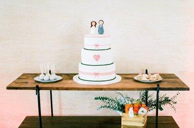 Os sabores tendência para bolos de noiva 2015