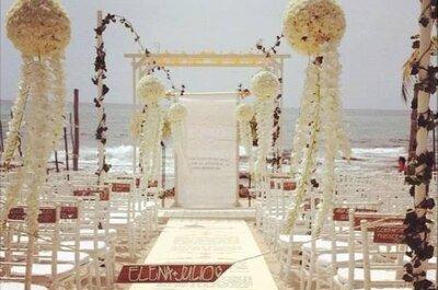 6 de las mejores florerías para boda en la Riviera Maya: El toque mágico para el gran día