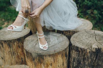 Como escolher o sapato de noiva perfeito? As melhores dicas para acertar e arrasar!
