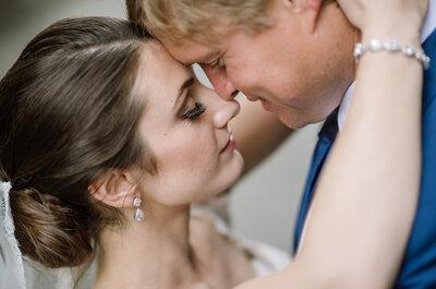 Die Hochzeit von Kelly & Hugh auf dem Château Gütsch in Luzern – Klein & zauberhaft