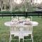 Decoración en color blanco para boda - Foto Rustic White Photography
