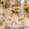 Decoración de boda con girasoles - Foto: Sweet Little Photographs
