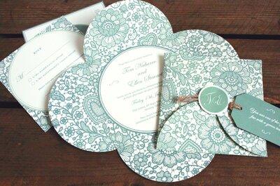 Oryginalne zaproszenia ślubne na rok 2015!
