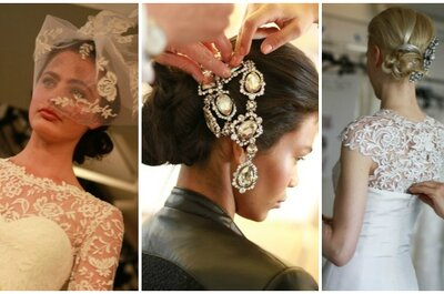 Fastuosos y elegantes vestidos de novia Oscar de la Renta 2014