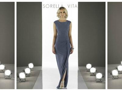 Die außergewöhnlichen Festkleider von Sorella Vita 2017: Modern Metallic ist das Stichwort