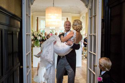 De real wedding van Robbert en Sasja bij Kasteel de Hooge Vuursche!