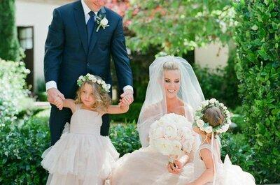 A Golden Family Wedding: Joanne + Alex´s say I do in California