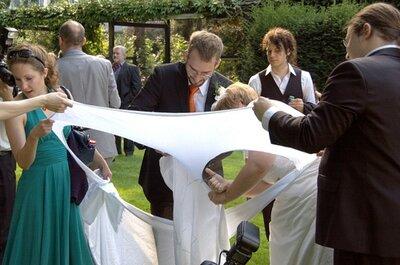 Hochzeitsspiele - traditionelle Klassiker