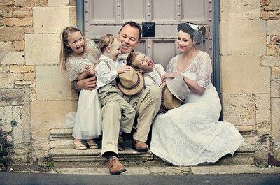 ¿Cómo entretener a los niños en tu boda? 8 consejos básicos