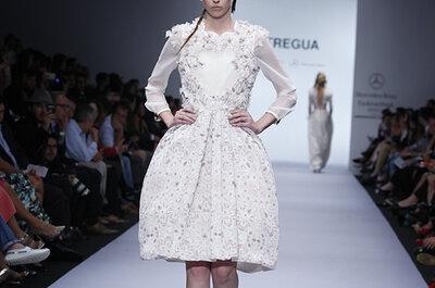 Para las novias que no le tienen miedo a nada: Vestidos de novia Tregua otoño 2014 en MBFWM