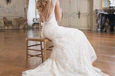 Encontre seu vestido de noiva perfeito no Salão Casamoda Noivas 2015