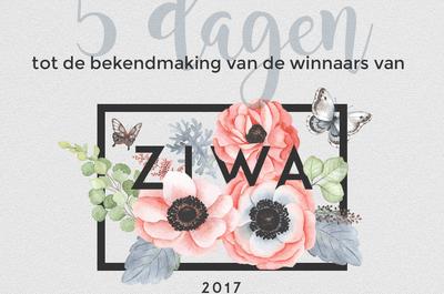 ZIWA 2017 is bijna afgelopen! Nog maar 5 dagen, heb jij al gestemd?