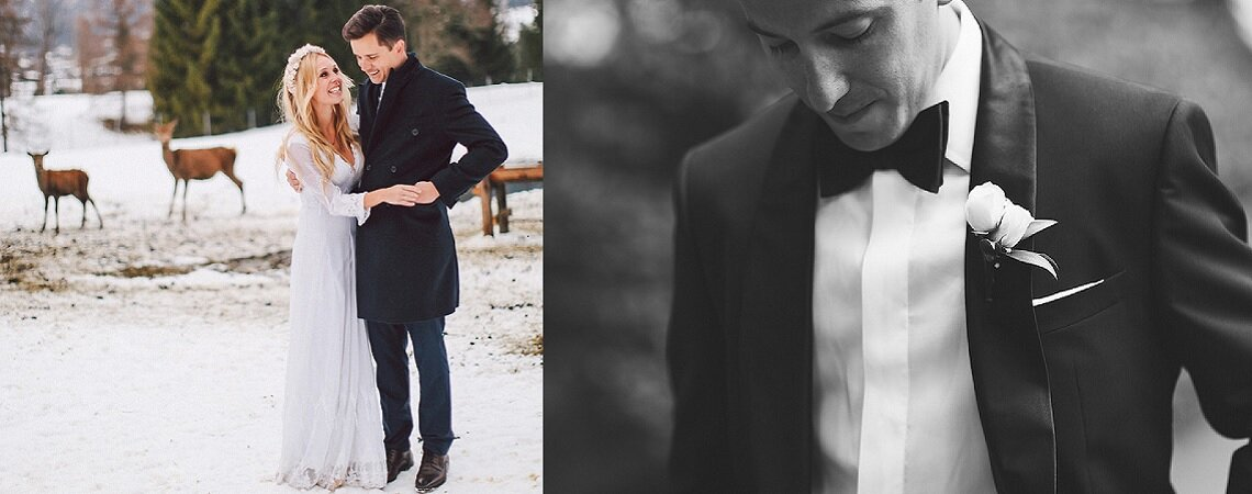 ¿Eres un novio de invierno? ¡Haz tuyos estos detalles de estilo!