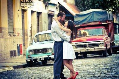Inspirate en una sesión de fotos pre boda increíble