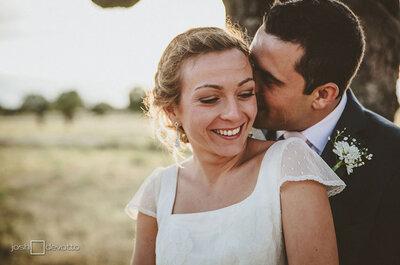 Emociones a flor de piel... Una boda en el campo