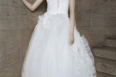 Extremos del glamour en los vestidos de Vera Wang 2015 - New York Bridal Week