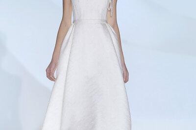 La Collection 2015 de robes de mariée Jesús Peiró, entre délicatesse et féminité