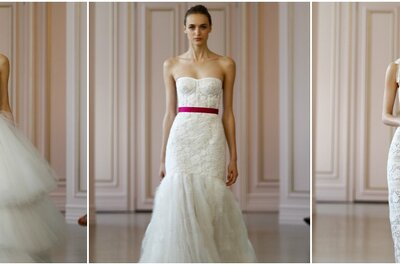 Óscar de la Renta 2016 Spring Bridal Collection: Flirty and Feminine