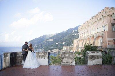 'Lemon scent' per il matrimonio di Anna e Alfonso a Sorrento