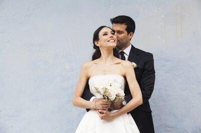 Karen y Eduardo dieron el gran paso para formar una linda familia